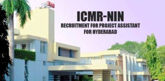 ICMR - NIN Recruitment