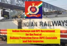 Indian Railways and RPF Recruitment
