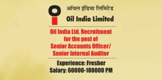 Oil India Ltd. Recruitment