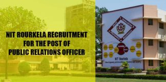 Public Relations Officer at NIT Rourkela