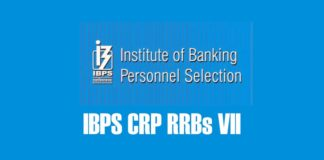 IBPS CRP RRBs VII